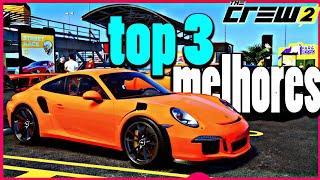 Top 3 carros mais rapidos de street no The crew 2    Juninho Silva