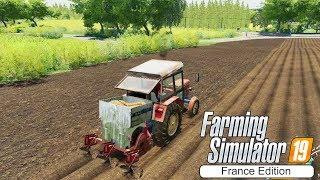 Building potato washer! ★ Farming Simulator 2019 Timelapse ★ Campaign of France ★ Episode 12