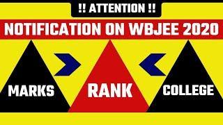 WBJEE 2020 Rank Vs Marks Vs College|WBJEE Government  & Top Private College-Wise Cutoff 2020|