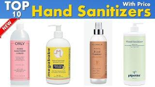 Top 10 Best Hand Sanitizer Brands With Price