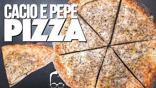 CACIO E PEPE PIZZA (THIS RECIPE IS CRAZY BUT WOW!) I SAM THE COOKING GUY