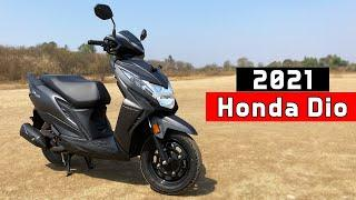 Honda Dio - Ride Review | Detailed Road Test | Mileage | Top Speed | Rev Explorers