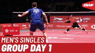 Group B | MS | CHEN Long (CHN) vs. Viktor AXELSEN (DEN) | BWF 2019