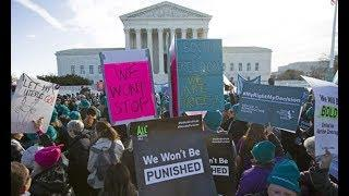 US supreme court takes up most high-profile abortion case in decades