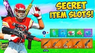 *SECRET* INVENTORY SLOTS ARE BROKEN!! - Fortnite Funny Fails and WTF Moments! #814