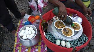 Most Popular Egg Ghugni Of India Very Spicy Tasty Ever | Indian Street Food