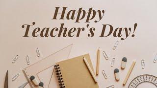 Teacher's Day Wishes  Teacher's Day Status Message  Teacher's Day Quotes 2021  Teacher's Day E-Card 