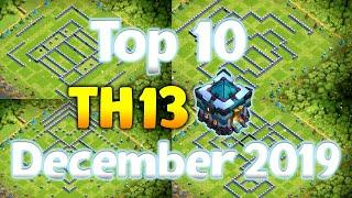 TOP 10 TH13 War Base & Legend League Base w/ Link - Best Town Hall 13 War Base - Clash of Clans