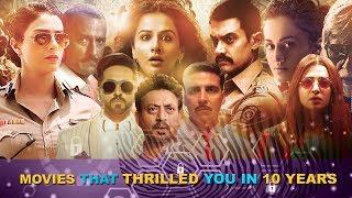 Top 10 Best Bollywood Suspense Thriller Movies of last Decade | Thriller Mystery Movies in Hindi