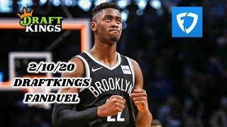 2/10/20 NBA DRAFTKINGS & FANDUEL PICKS