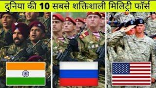Top 10 Strongest Military Force In World || Powerful Country