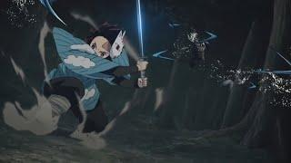 Top 10 Tanjiro Fights Moments - Demon Slayer | Best Anime Moments