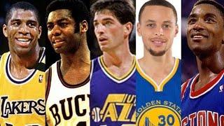 Top 10 Point Guards Of All Time