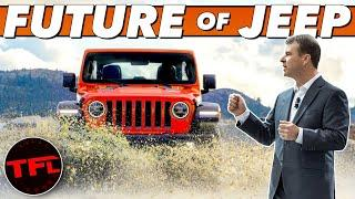 Is The Future Of Jeep Electric? We Ask Jeep Head Honcho Jim Morrison!