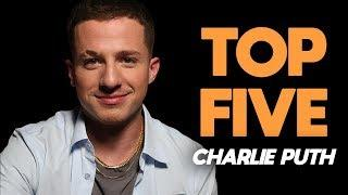 The five songs Charlie Puth just can't get out of his head
