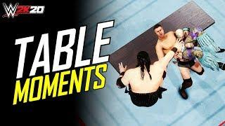 WWE 2K20 Top 10 Tag Team Table Finishers (Epic Moments)