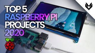 5 Great Raspberry Pi Projects 2020 | Top 5 Raspberry Pi School Projects | Viral Hattrix