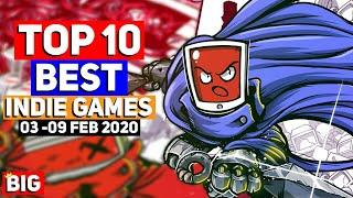 Top 10 BEST NEW Indie Game Releases: 03 - 09 Feb 2020   ScourgeBringer & more!