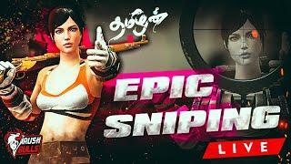PUBG Mobile TAMIL LIVE Stream | Epic Sniping | Rushing for chicken dinner | Team RB | RB Sharp YT