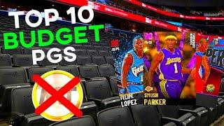 RANKING THE TOP 10 BUDGET POINT GUARDS IN NBA 2K21 MyTeam! (ALL UNDER 20K MT)