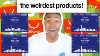 I Tried Dropshipping The WEIRDEST Products On AliExpress!