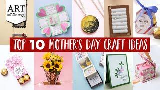Top 10 Mother's Day Crafts | Best out of waste Ideas | Mothers Day Compilation