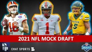 2021 NFL Mock Draft: NEW 1st Round Projections Ft. Trey Lance, Trevor Lawrence & Justin Fields