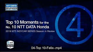 2019 Season in Review: Top 4 Moment for the No. 10 NTT DATA Honda