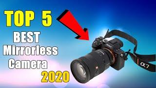 ✅ Top 5 BEST Mirrorless Camera in 2020!
