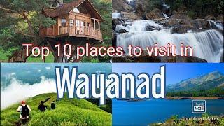 Top 10 places to visit wayanad/trip plan