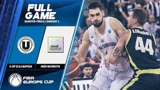 U-BT Cluj Napoca v medi Bayreuth - Full Game - FIBA Europe Cup 2019-20
