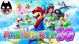 MARIO PARTY 10 - All Boards & Minigames - Super Mario Bros Videos Games - Nintendo Wii U