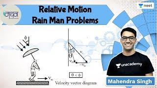 NEET: Relative Motion   Rain Man Problems   Manthan l Unacademy NEET l Mahendra Singh