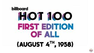 Billboard Hot 100 Top 10 Singles (August 4th, 1958)