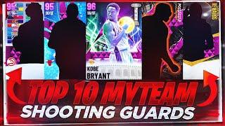 THE TOP 10 BEST SHOOTING GUARDS IN NBA 2K21 MYTEAM!! 2K21 MYTEAM BEST SHOOTING GUARDS!!