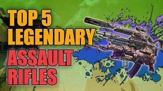 Borderlands 3 | Top 5 Legendary Assault Rifles - Best AR's for End Game Builds