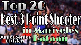 TOP 20 BEST 3 POINT SHOOTER IN MARIVELES,BATAAN (JUNIOR/SENIOR DIVISION) | GRAFILO 14