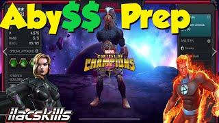 Aby$$ Of Legends Prep : Decisions Decisions | Marvel Contest of Champions