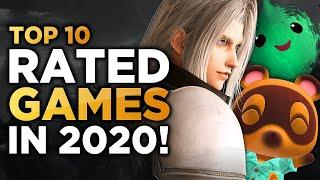 Top 10 HIGHEST Rated Games of 2020 (So Far)