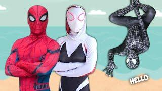 SPIDER-MAN Story In Real Life | Venom Is Problem In Spider-Man Life
