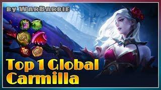 Support With Damage | Top 1 Global Carmilla 2020 by WarBarbie | Top Global Gameplay | MOBILE LEGENDS