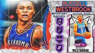 PINK DIAMOND RUSSELL WESTBROOK GAMEPLAY! TOP TIER POINT GUARD IN NBA 2k20 MyTEAM