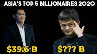Top 5 Richest People in Asia 2020 | Asia's Top 5 Billionaires 2020