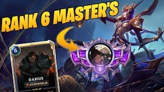Top 6 Master's | Top Decks Runeterra | Spider Aggro | Elise Darius | Best Decks Runeterra