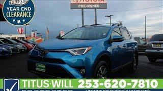2017 Toyota RAV4 Tacoma, WA #W0205