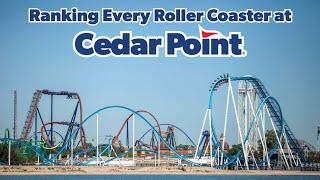 Top 17 Coasters at Cedar Point | All Roller Coasters at Cedar Point Ranked | Cedar Point Ranking