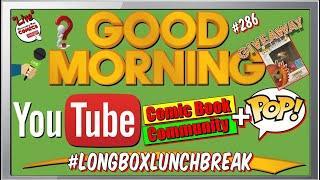 Comic Book Funko Pop Content Channels Ep#286, Marvel Comics, DC Comics, Funko Pop Giveaway