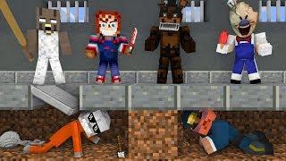 Monster School: 1 HOUR of Best Season - Minecraft Top Animations