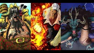 TOP 10 STRONGEST ACTIVE CHARACTERS IN ONE PIECE