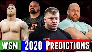 Group Predictions | World's Strongest Man 2020